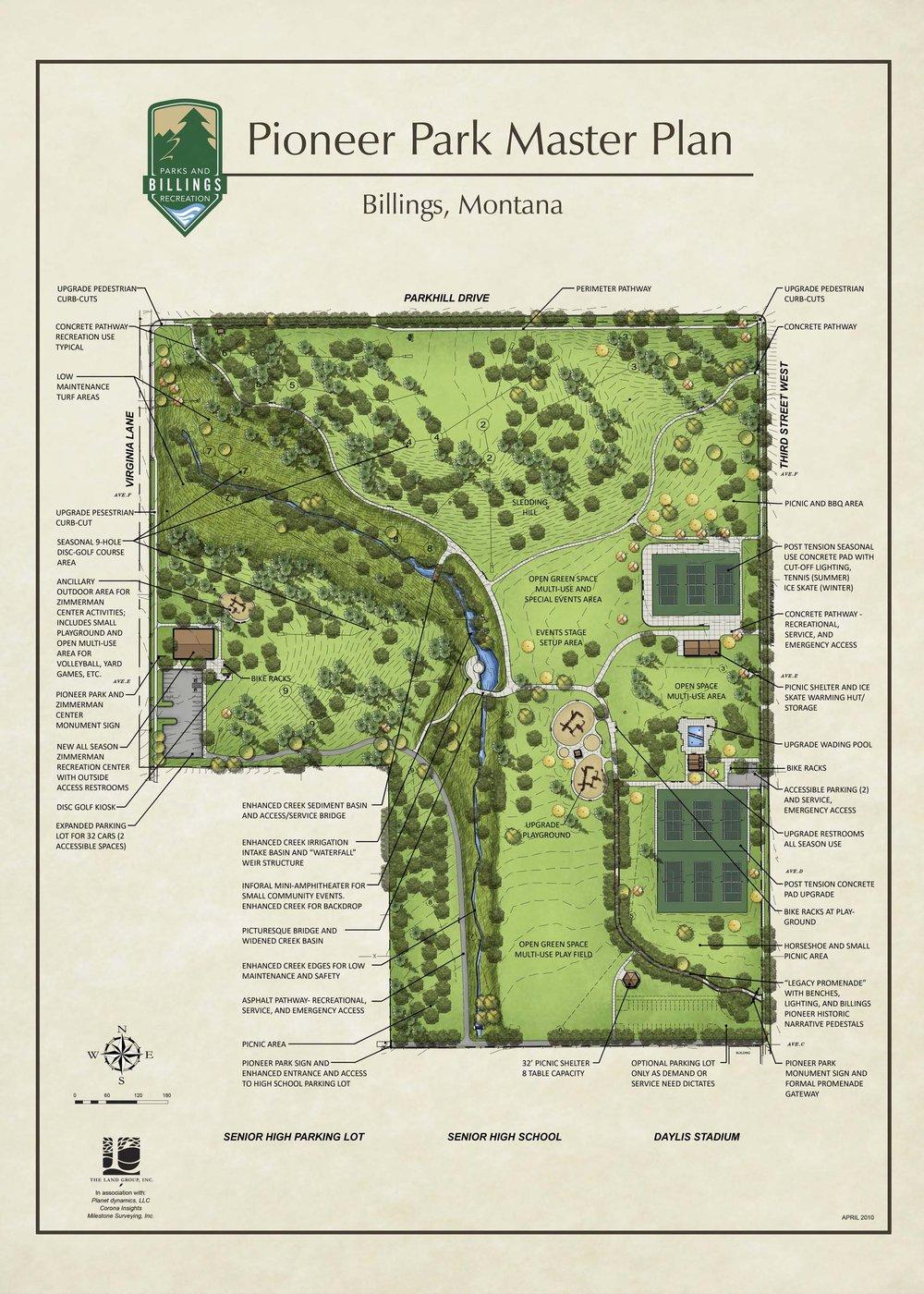 Pioneer Park Plan