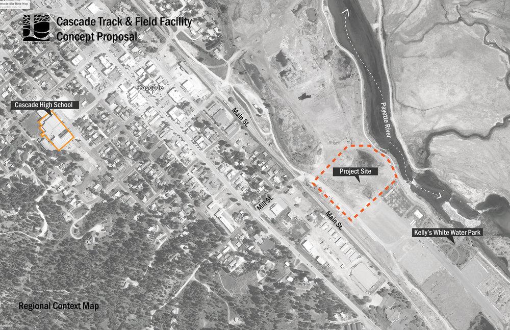 Cascade High School Track Facility — The Land Group, Inc