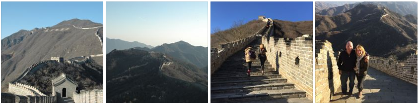 Top of the Great Wall (North Quanmen section, built 1404)