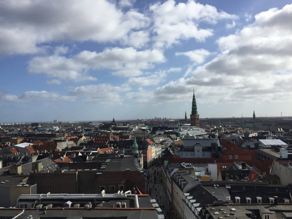 Grateful for this surprise visit to Copenhagen - I wish we had one more day to explore this beautiful city.