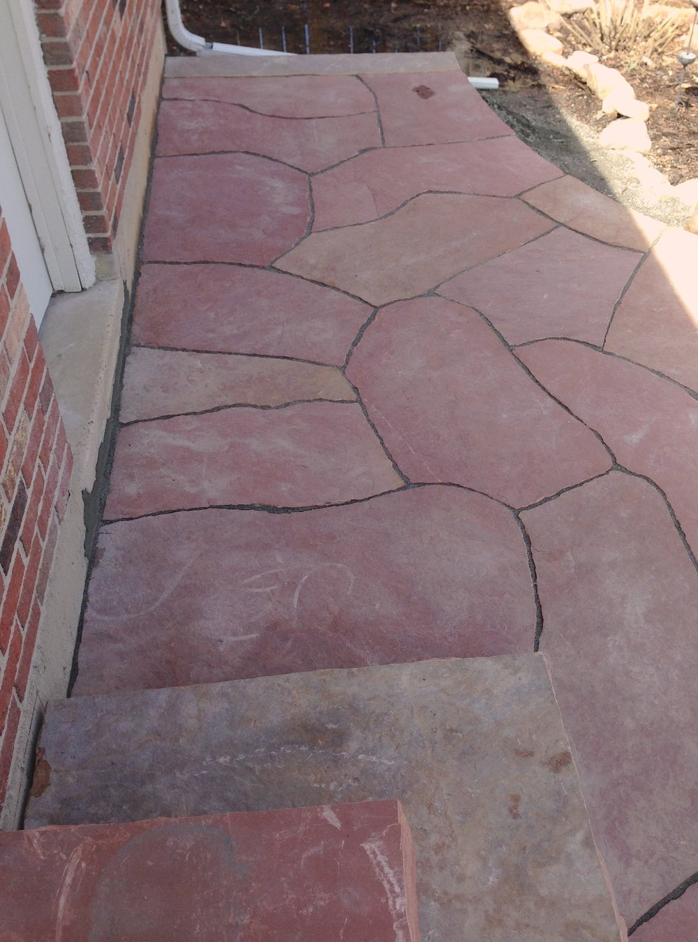 flagstone boulder | flagstone stairs