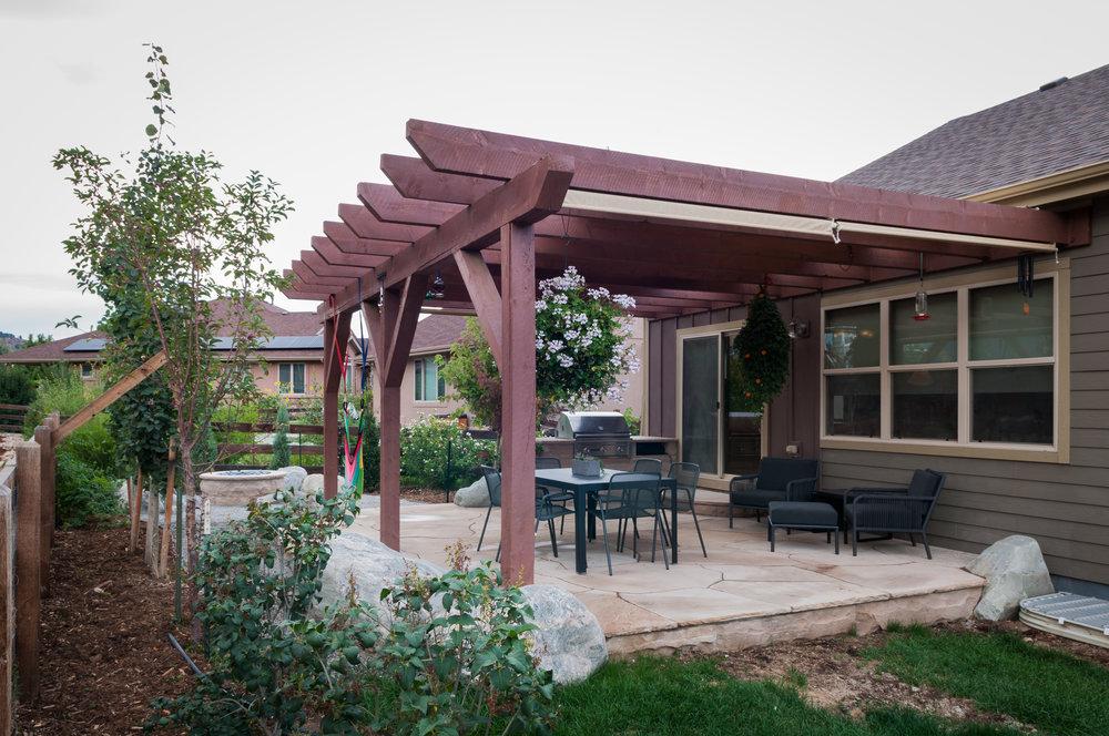 flagstone longmont | rock pavers patio