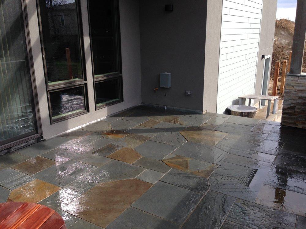 flagstone entryway | flagstone path