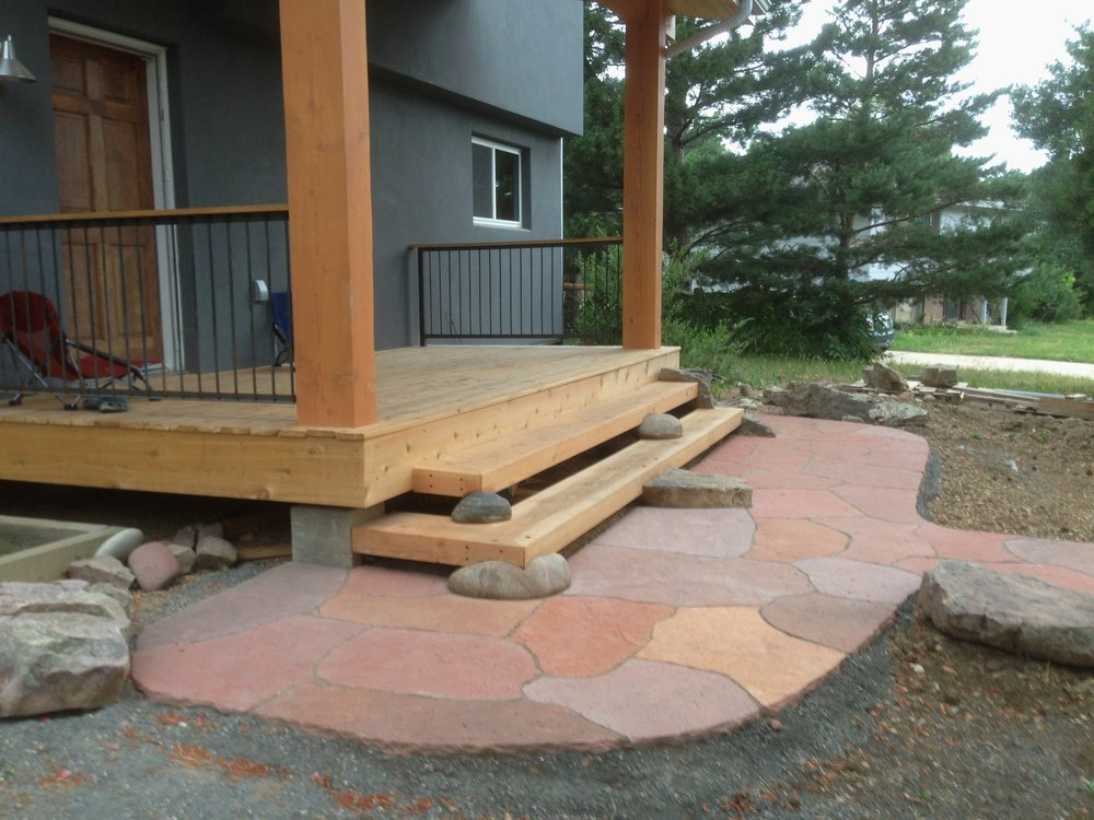 Garden Paving Cost | Flagstone Patio Cost