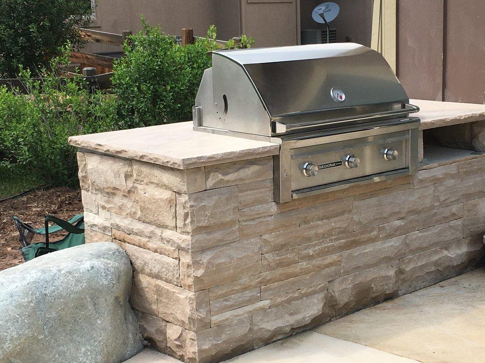 outdoor gas grills | built in gas grills