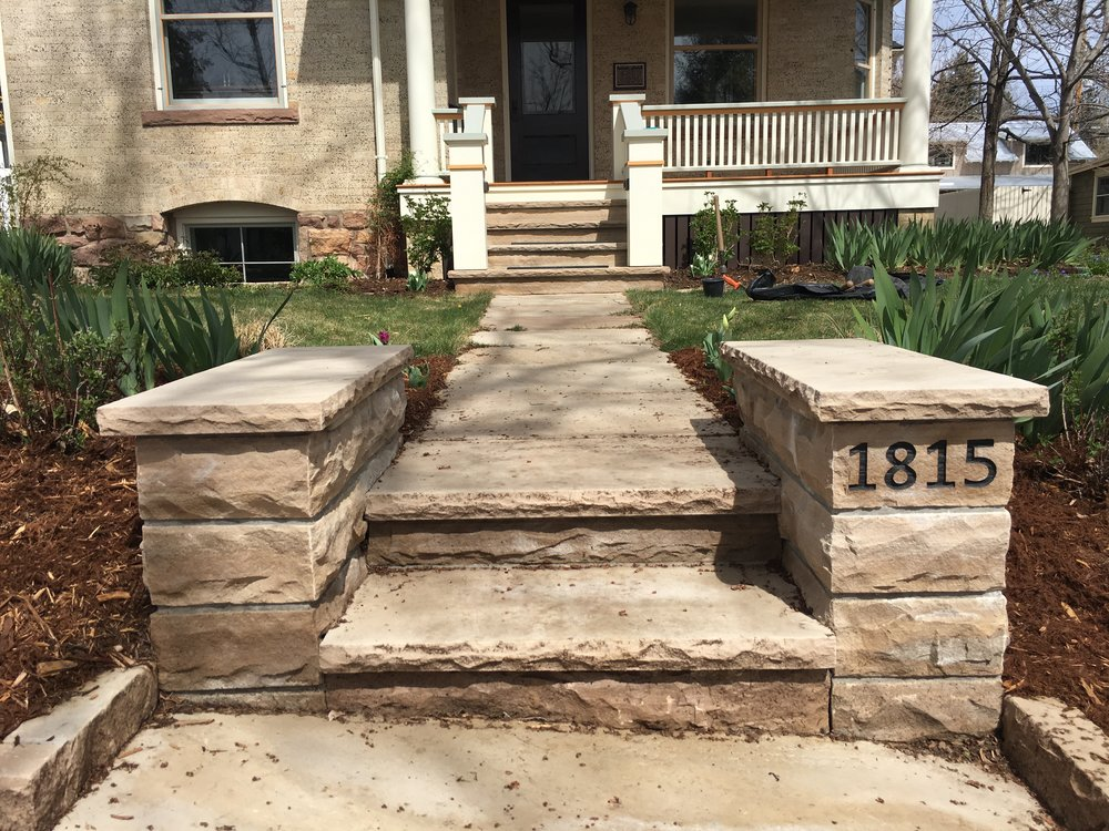 flagstone stairs | stone steps cost