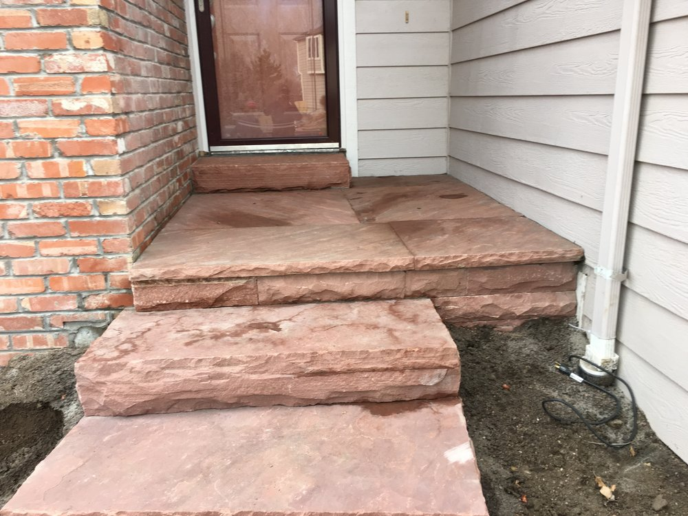 stone steps cost | flagstone pavers cost