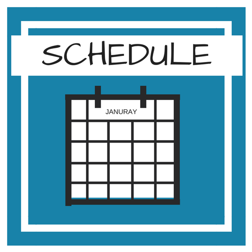 1. SCHEDULE - In order to make behavior changes - to reach our goals - we must invest TIME in action. The time required to to make our lives better, will not magically become available. By blocking out a section of time for action toward the goal, we help to eliminate some power from those secondary thoughts telling us