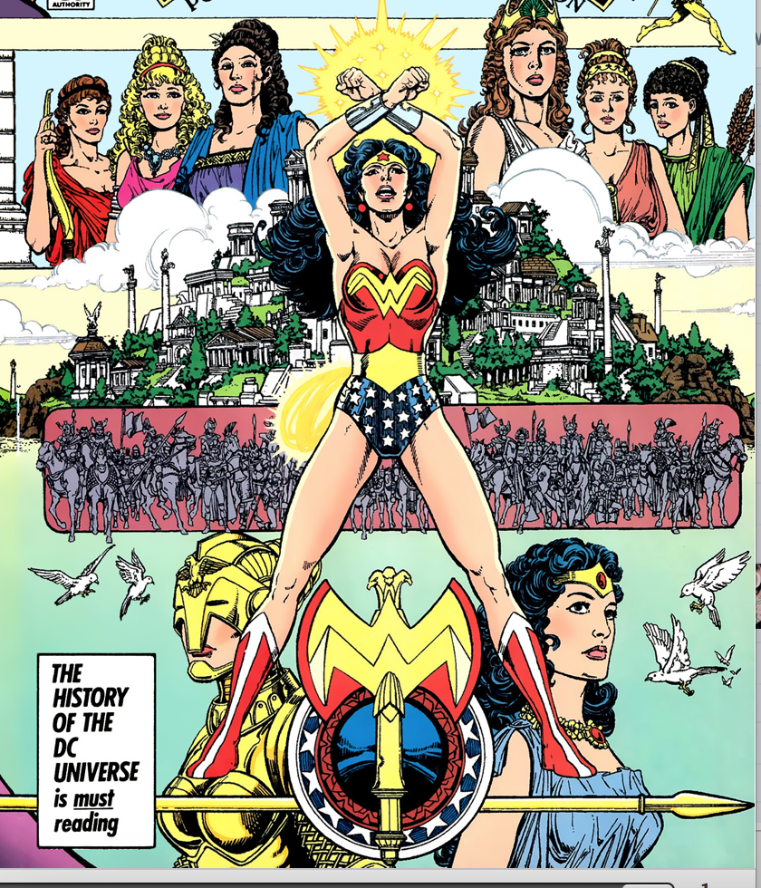 Wonder Woman Origin Image