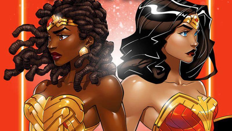 Nubia & Wonder Woman