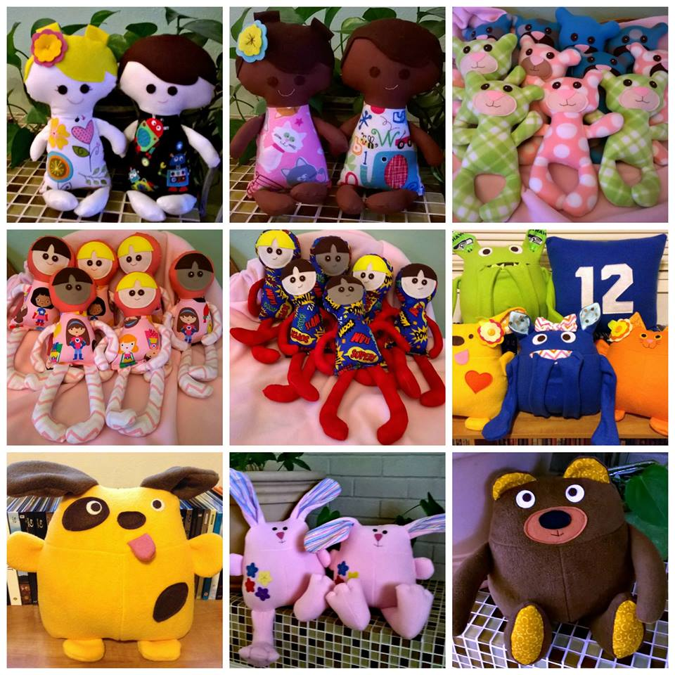 Just a few of the wonderful creations created by Sewing Miles of Smiles!
