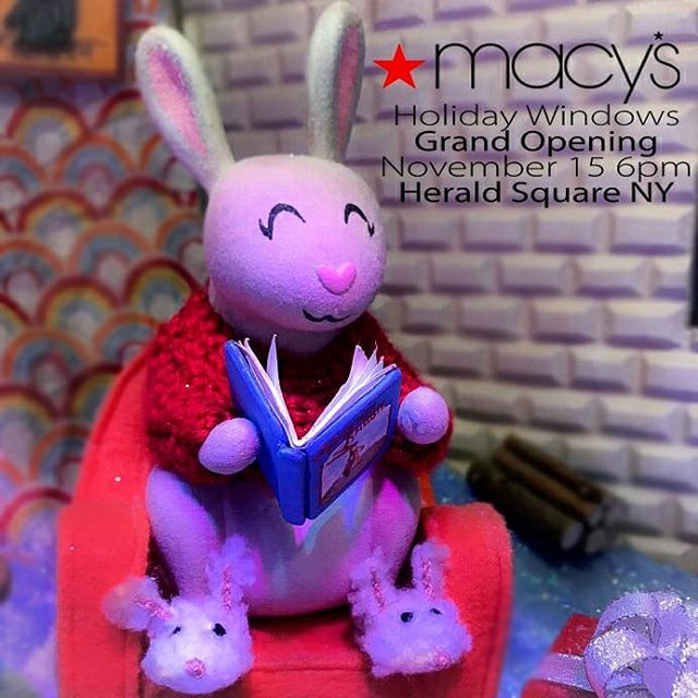 Come tomorrow to see Sunny and all her Snow Pals on their first big adventure in Herald Square! These Holiday Windows are epic. 1000's of hours split over many teams and months = real magic. . . . . #holiday #holidaywindows #visualdisplay #visualmerchandising #Macys #christmas #animatronics #technology #unveiling @roya_windows @fifty.shades.of.glitter @consolidated_death_ray @angelrios75 @opulenceeverlasting @joethemaker @and_i_woung @msbrittbishop