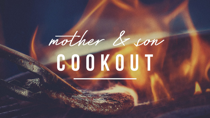 Mother and Son Cookout.jpg