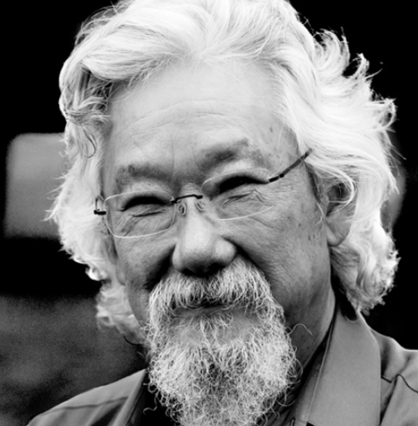 <strong>Dr David Suzuki</strong><br>Professor, Author,  Broadcaster<br>Host of <em>The Nature of Things</em>
