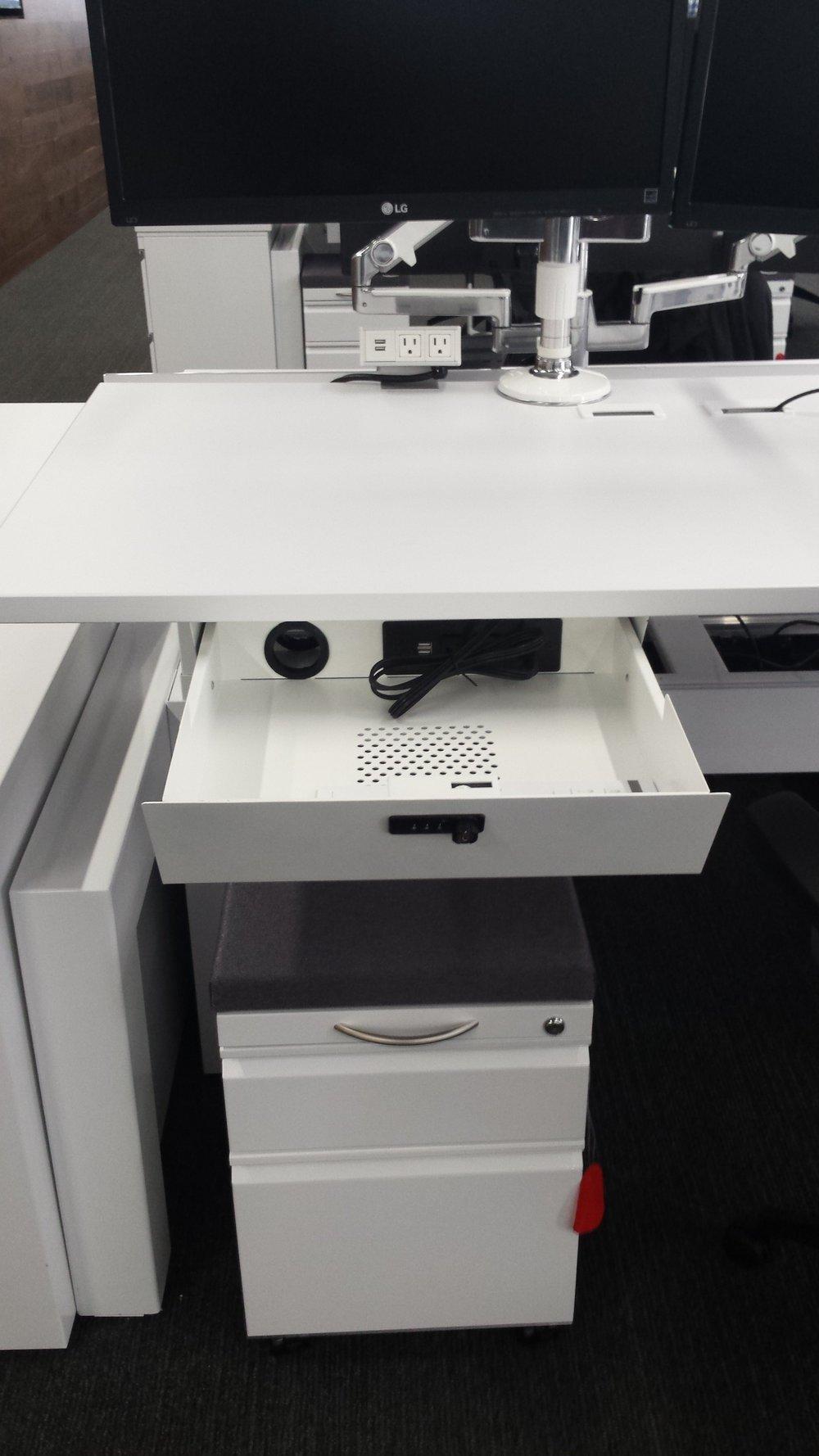 laptop charging drawer laptop drawer