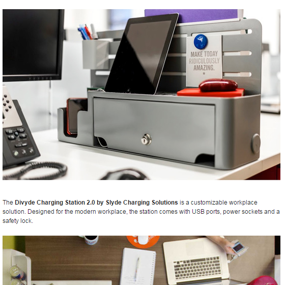 Divyde Named to Top 5 Desk Accessories List by Designer Pages