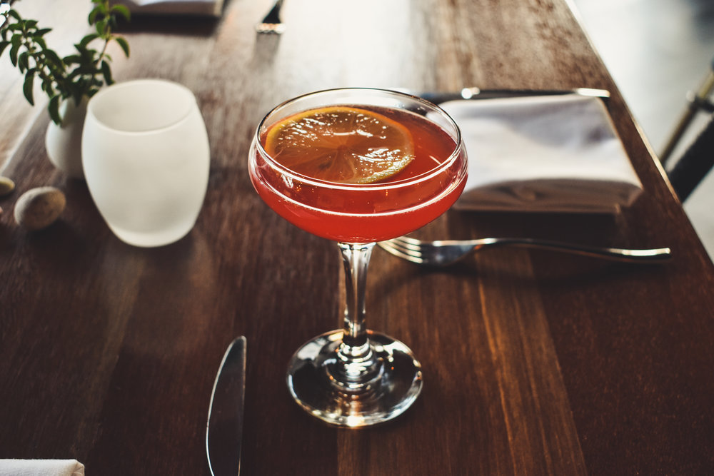 Hundred North's world-class cocktail selection includes their Turn & Burn, a fiery cocktail! Available for $6, only during Happy Hour Thursdays!