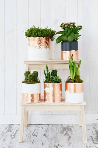 THE PASSIONATE HOME -  Be sure to check out these ladies and their stage demo for a brief talk about Chalk Paint ™  decorative paint by Annie Sloan and a demo of how to transform a simple can, terracotta pot and glass vessel into a stylish planter using chalk paint™ and gilding wax.