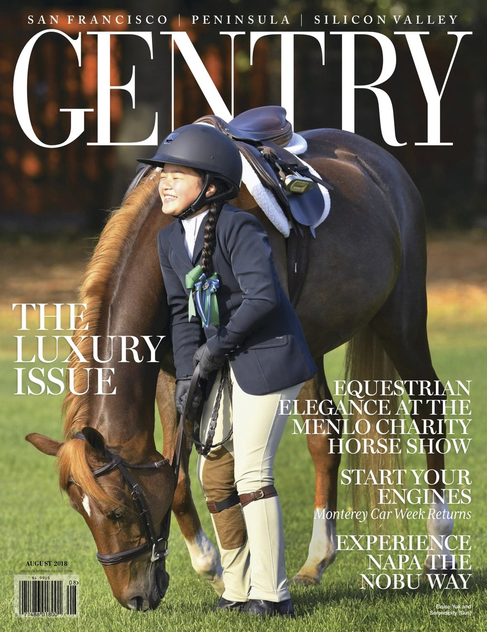 TRAVEL ARTICLE - GENTRY MAGAZINE