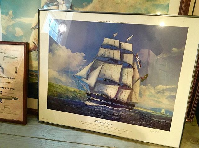 "This is a 1970s #lithograph of ""Harbor of Tears"" 1/1200 by #KennethKing (Signed). It is going for $1200. Please DM us or email us at info@kkentertainment.com for more details! #art #sail #boat #comment #buy #sell #buyselltrade #likeforlike #likeforlikes #comments #tag #tagging #vintage #memorabilia #orginal #decoration #bergencounty #bergencountynj #newjersey #newyork #nj #ny #antique #antiques #antiquing #find #pickers #finds"