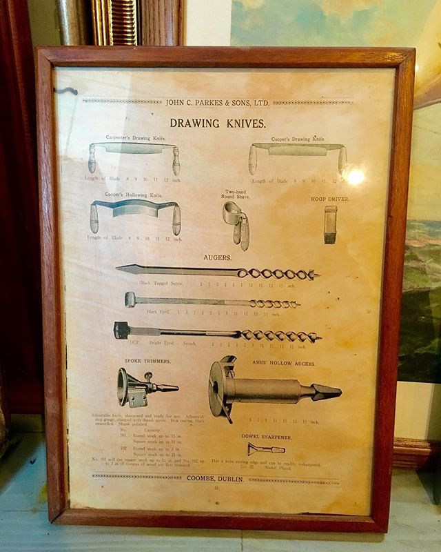 This is an #original advertising piece from the 1940s for Irish Tool Company (John C. Parkes & Sons, LTD). This is going for $60! For more info DM us or email us at info@kkentertainment.com! #likeforlike #likeforlikes #comments #tag #tagging #vintage #memorabilia #orginal #decoration #bergencounty #bergencountynj #newjersey #newyork #nj #ny #antique #antiques #antiquing #find #pickers #finds