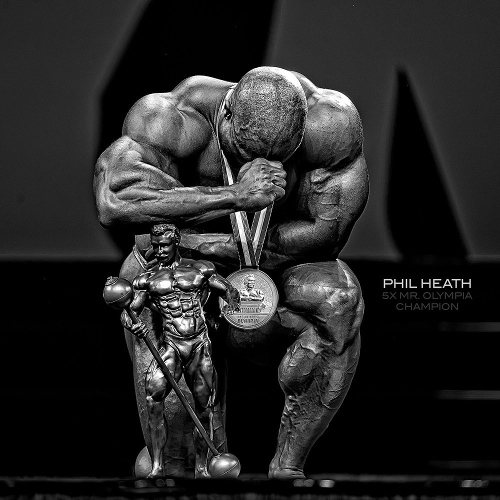 Phil Heath wins the Olympia