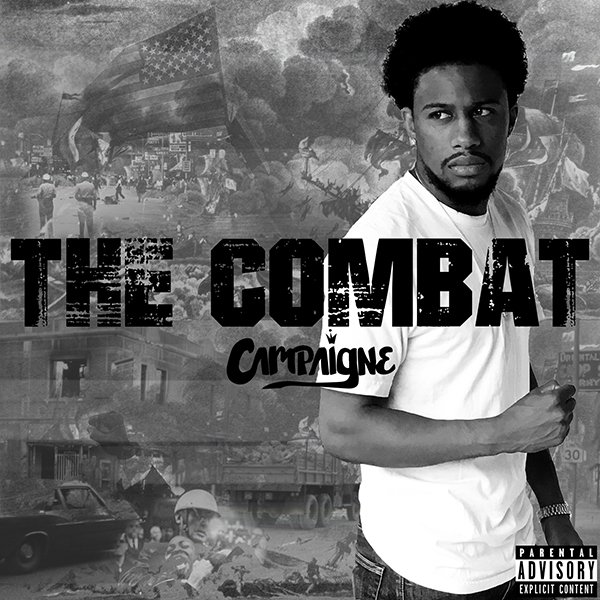 The Combat Cover - I created an entire set of work for the release of