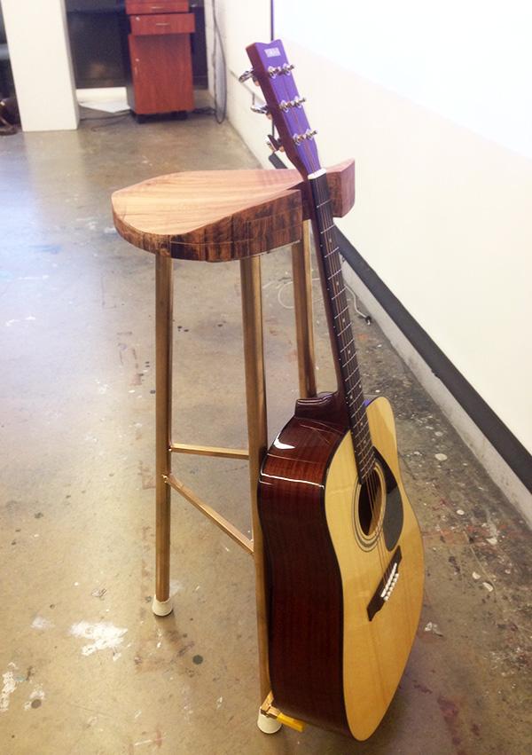 Final guitar stool