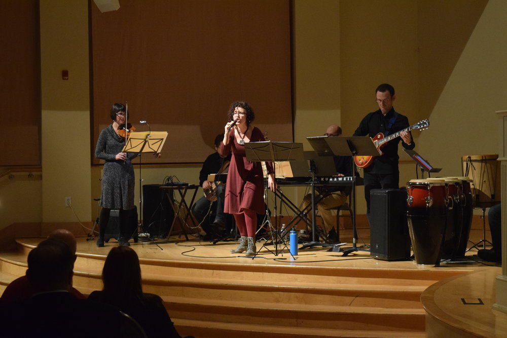 FALL 2017 CONCERT AT  OLD SALEM VISITOR CENTER LORENA GUILLEN'S TANGO ENSEMBLE ARGENTINA