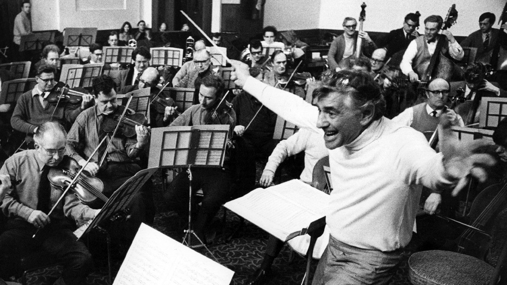 Leonard Bernstein - (1918-1990)was an American composer, conductor, author, music lecturer, and pianist. According to music critic Donal Henahan, he was