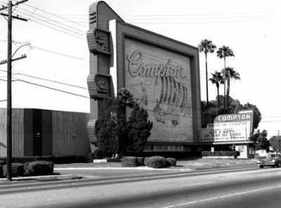 The Compton Drive-In in the 50s.