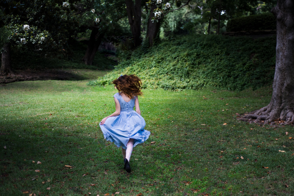 Renee's Through The Looking Glass Editorial   Anne Bertelson Photography   Plano, Highland Park,  Dallas Fine Art Child + Fashion Photographer
