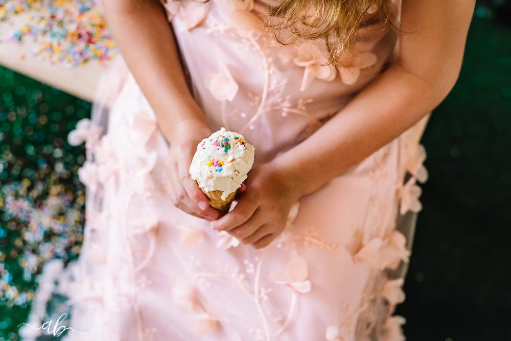 Gracie + Ramsey's Ice Cream Mini |Happy 2nd Birthday, ABP... | Anne Bertelson Photography | Dallas, Plano, Allen, Highland Park, Parker, Lucas, Rockwall, Flower Mound Fashion + Child Photographer