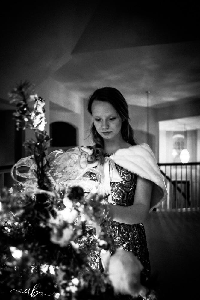 Allie's Fine Art Christmas Session | | Anne Bertelson Photography | Plano, Allen, McKinney, Frisco, Highland Park, Dallas Child + Fashion Photographer | www.AnneBertelsonPhotography.com