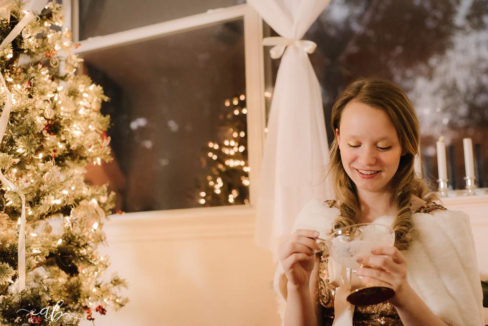Allie's Fine Art Christmas Session | | Anne Bertelson Photography | Henry's Homemade Ice Cream | Plano, Allen, McKinney, Frisco, Highland Park, Dallas Child + Fashion Photographer | www.AnneBertelsonPhotography.com