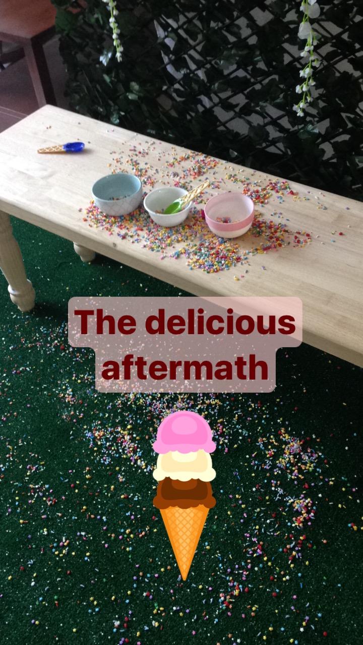 Gauger's Ice Cream Daydream Mini BTS | Anne Bertelson Photography | Dallas + Plano Fine Art Child Photographer