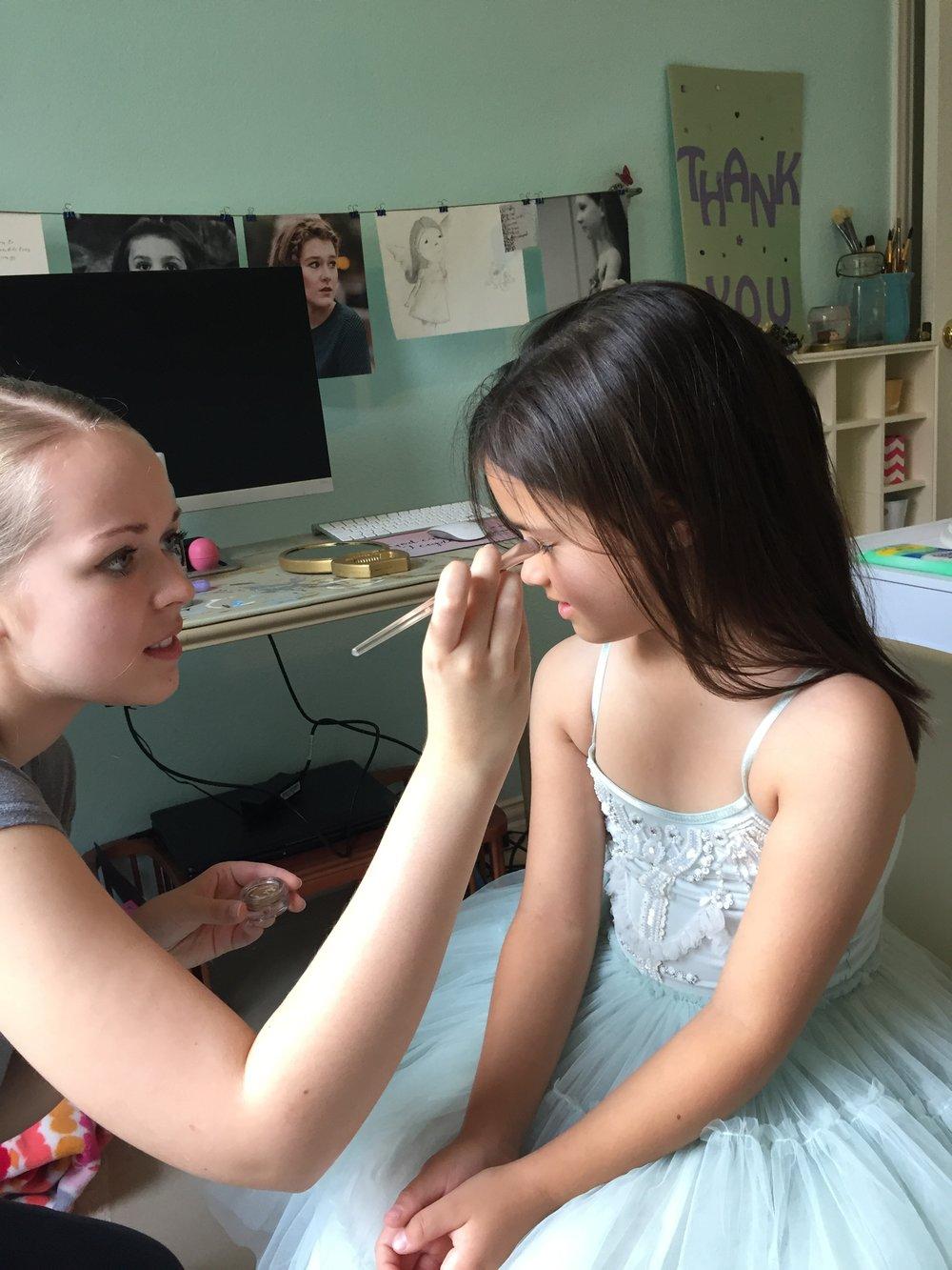 Mallory's Butterfly Princess Daydream Mini BTS | Anne Bertelson Photography | Dallas + Plano Fine Art Child Photographer