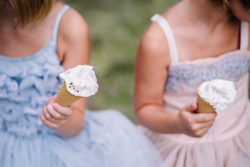 Laude Girl's Ice Cream Daydream Session | Plano + Sydney Fine Art Dance and Child Photographer