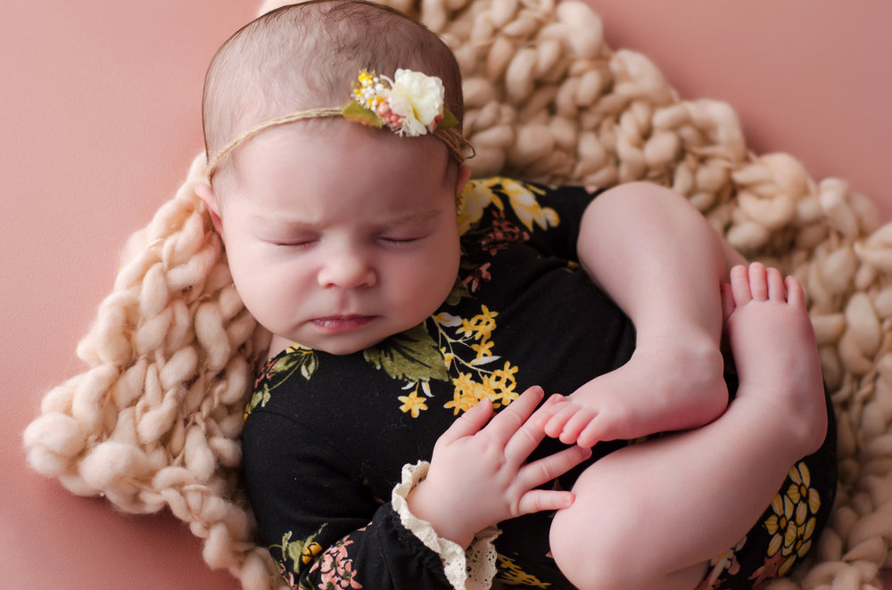Blossom workshop newborn session anne bertelson photography dallas plano highland park texas