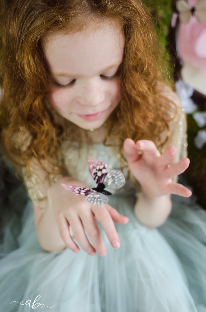 A's Butterfly Princess Mini Daydream Session | Anne Bertelson Photography | Dallas, Plano, Highland Park Texas Child + Fashion Photographer