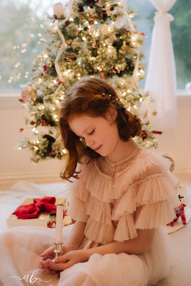 A's Cozy Christmas Mini Daydream Session | Anne Bertelson Photography | Dallas, Plano, Highland Park Texas Child + Fashion Photographer