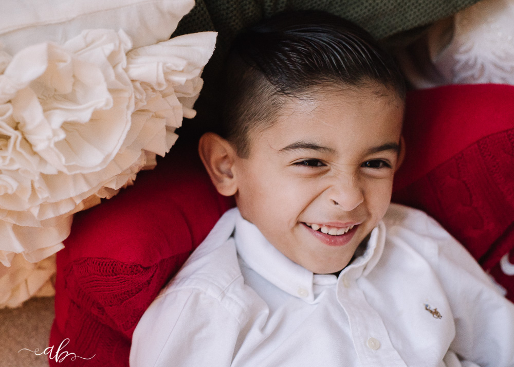 Jayla + Omar's Cozy Christmas Session | Anne Bertelson Photography | Plano, McKinney, Frisco, Highland Park, Dallas Child, Dance + Fashion Photographer | www.AnneBertelsonPhotography.com