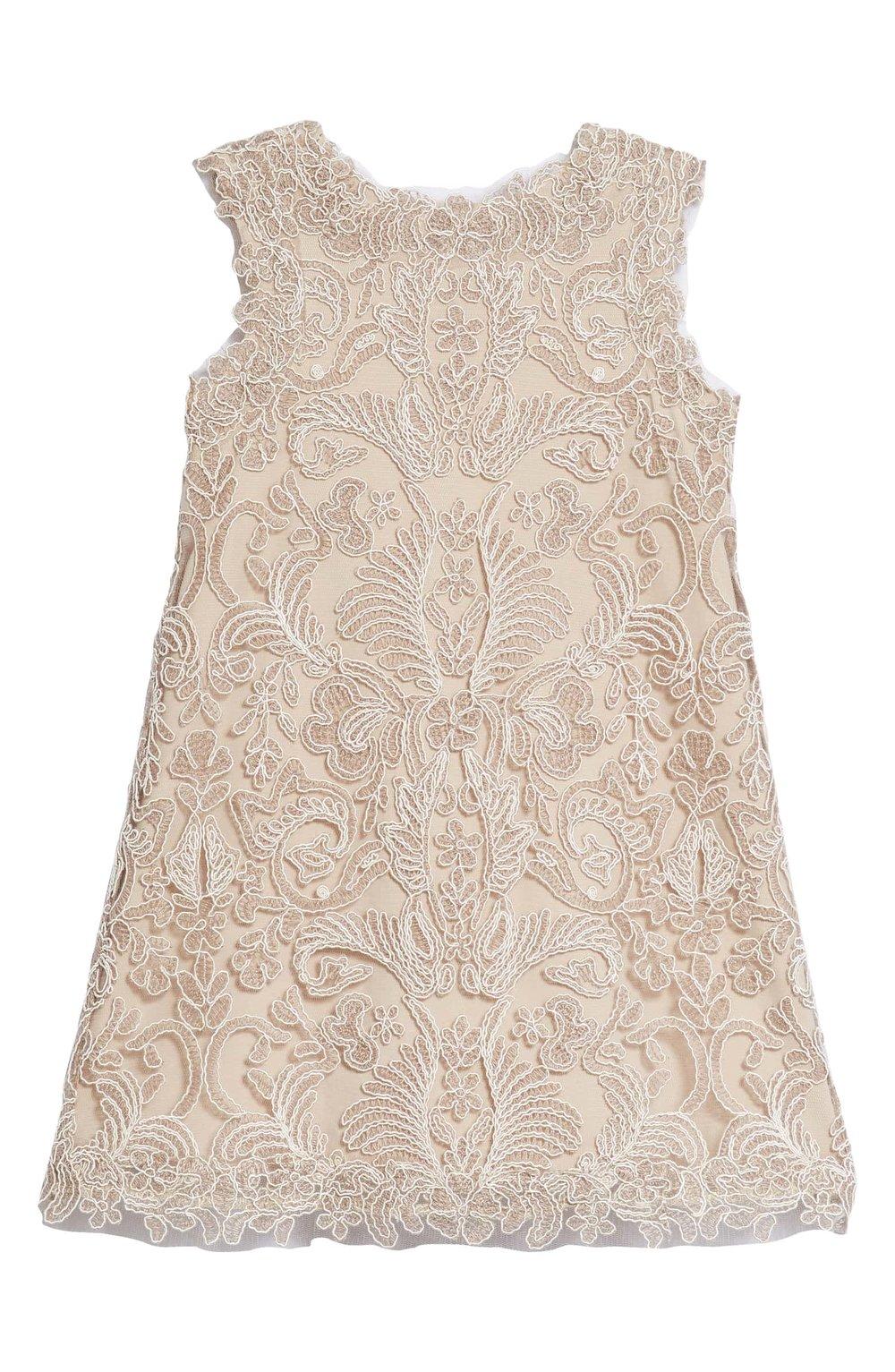 TADASHI SHOJI Embroidered Sheath Dress | Nordstrom