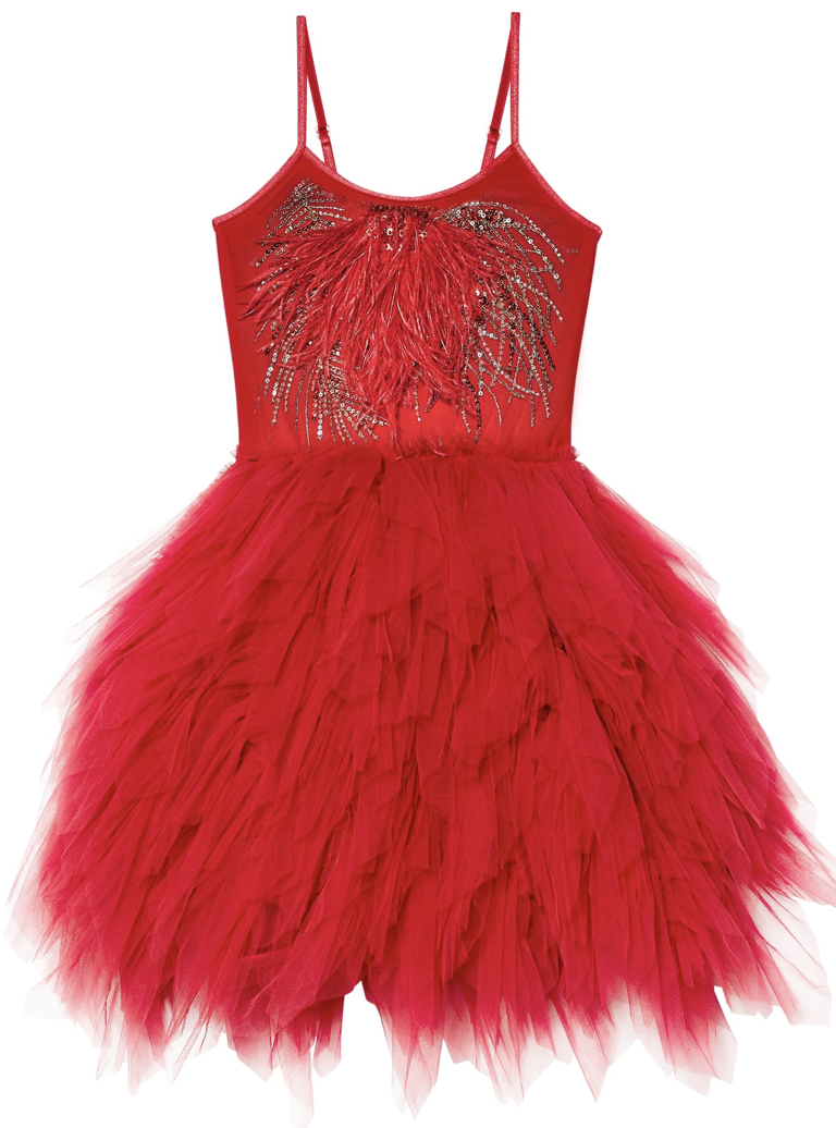 DECADENT DREAM TUTU DRESS - CHERRY || Tutu du Monde