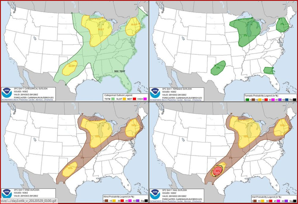 5-28-12 Outlooks