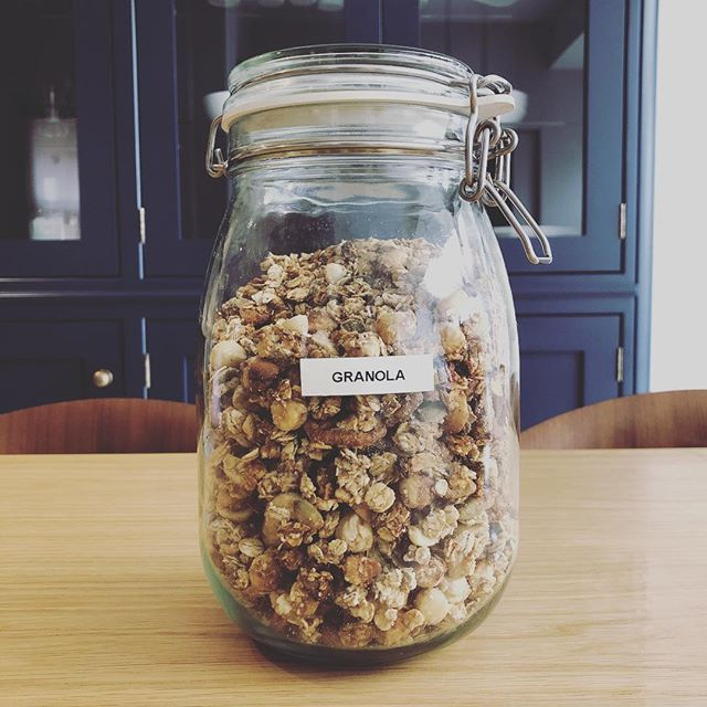Oil free date and tahini granola... #vegan #glutenfree #breakfast #vegangranola #wholefoods #oilfree #refinedsugarfree