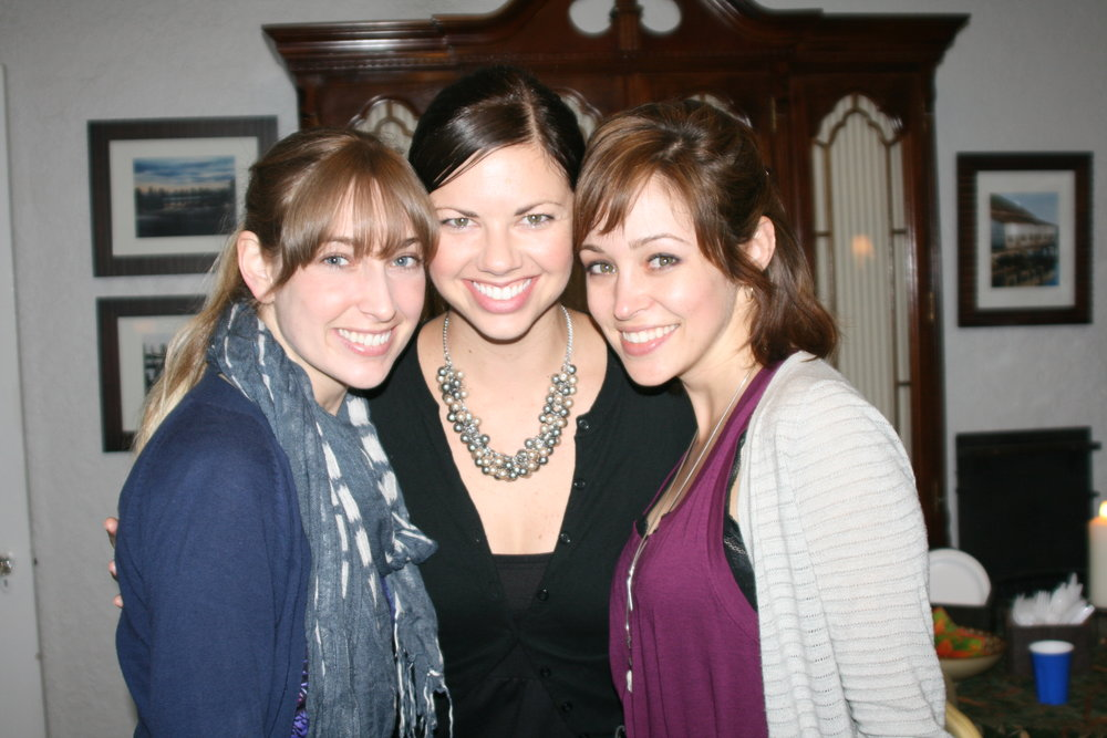 The 'A' Team: with my friends Alyssa & Ashley