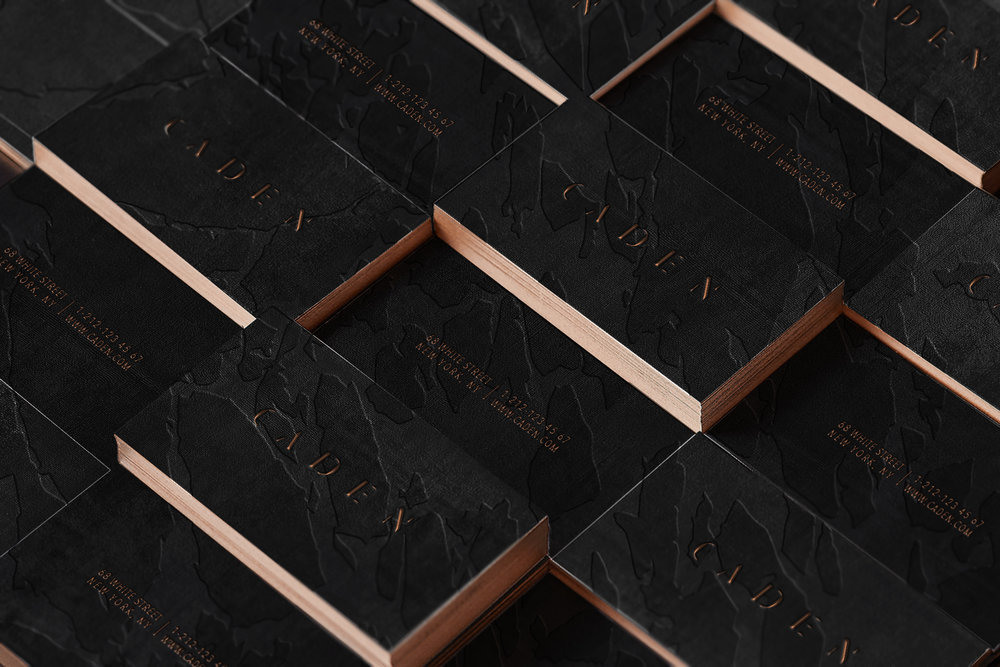 Clandestine luxury branding for a subterranean membership club located New York City.