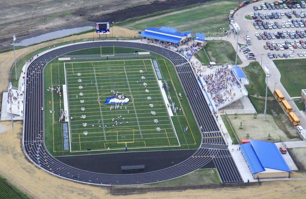 Bondurant High School Stadium in Bondurant, IA