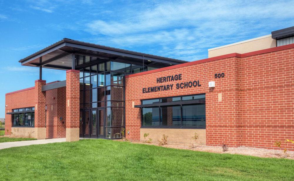 Heritage Elementary School in Grimes, IA